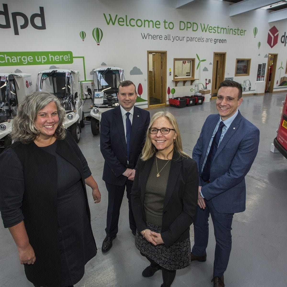 DPD all-electric westminster depot