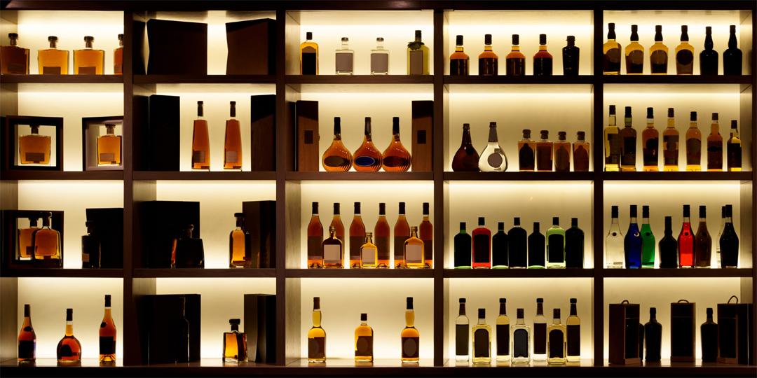 Sending alcohol