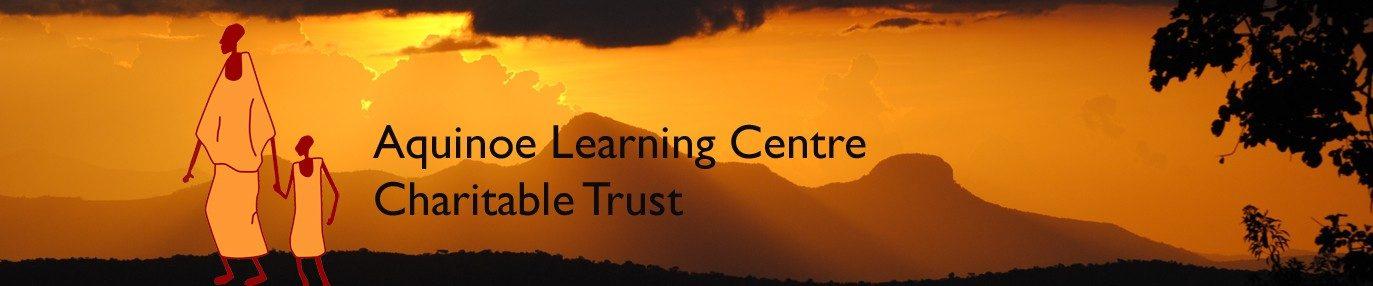 Aquinoe Learning Centre Charitable Trust banner.