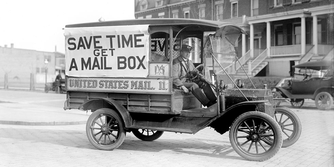 Courier delivery throughout history