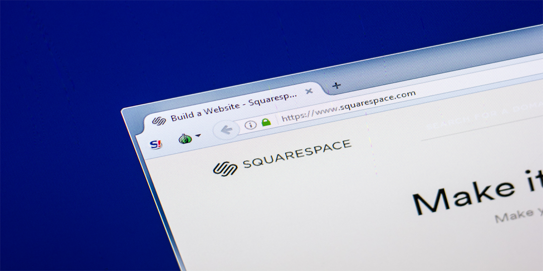 Using Squarespace