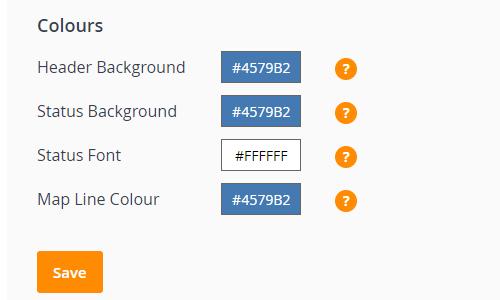 Customising brand colours